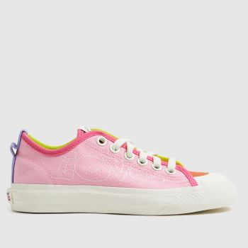 adidas Pale Pink Nizza Pride Womens Trainers