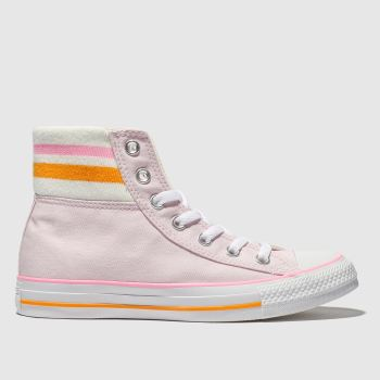 Converse Pale Pink All Star 80s Cuffed Womens Trainers
