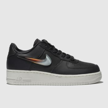 Nike Dark Grey AIR FORCE 1 PREMIUM JELLY Trainers