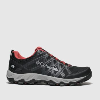 Columbia Black & Red Peakfreak X2 Womens Trainers