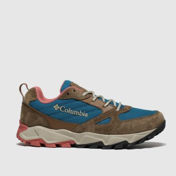 Columbia Tan Ivo Trail Womens Trainers