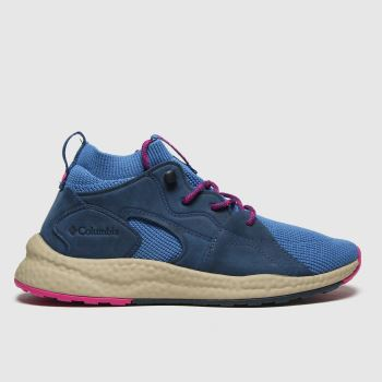 Columbia  Blue Sh/ft Outdry Mid Womens Trainers
