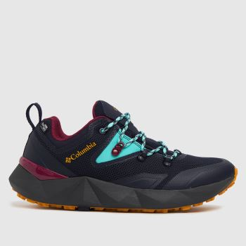 Columbia  Navy & Black Facet 30 Outdry Womens Trainers