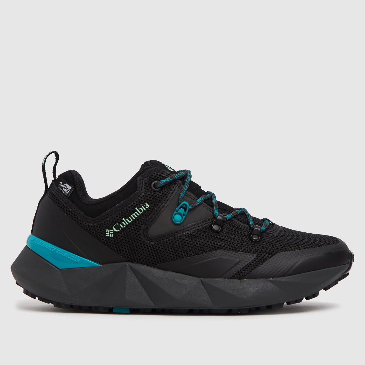 Columbia  Dark Grey Facet 30 Outdry Trainers