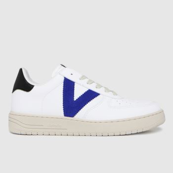 victoria White & Navy Always Vegan Womens Trainers
