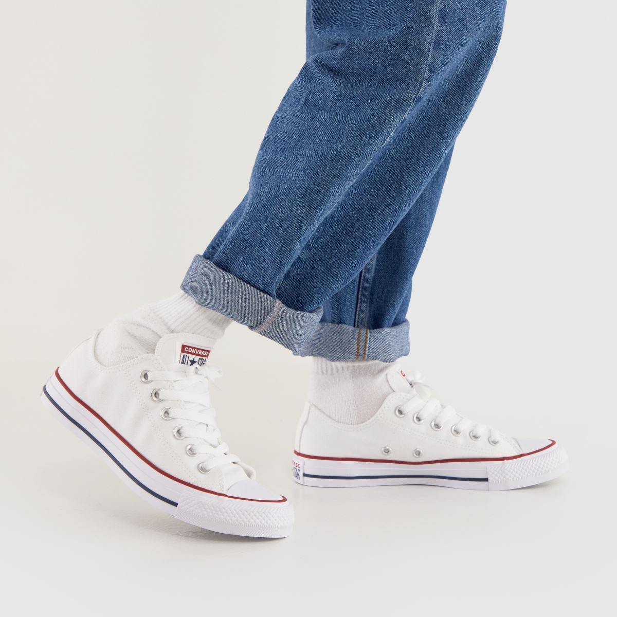 Damen Weiß converse All Star Oxford Sneaker | schuh Gute Qualität beliebte Schuhe