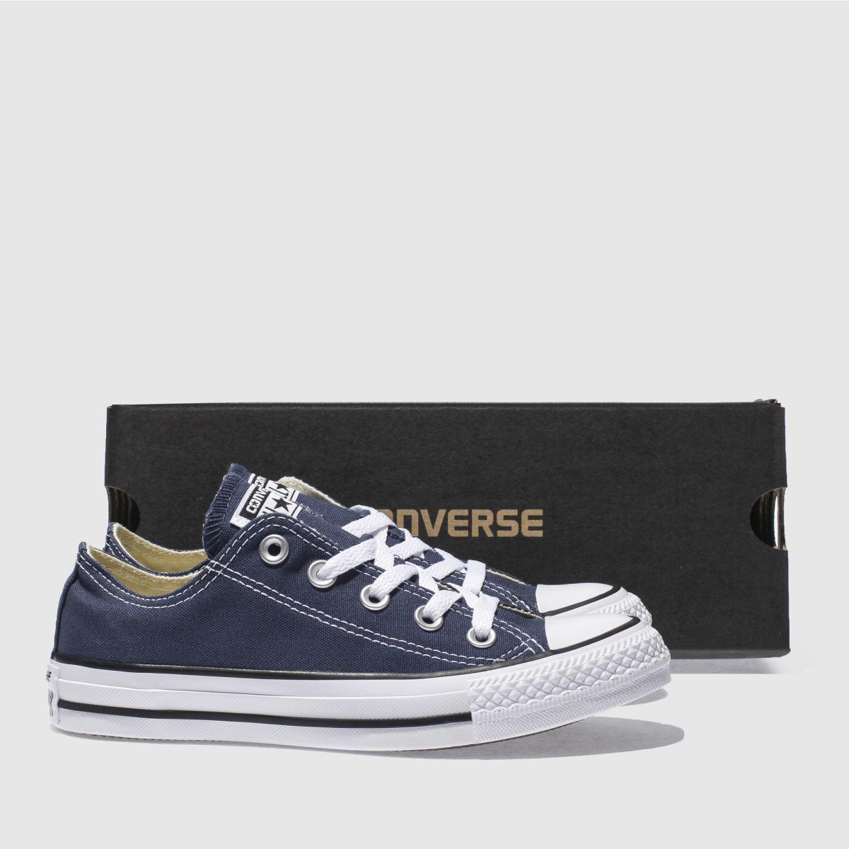 Damen Marineblau-weiß converse All schuh Star Oxford Sneaker | schuh All Gute Qualität beliebte Schuhe dad409