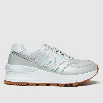 New balance Light Grey 574 Womens Trainers