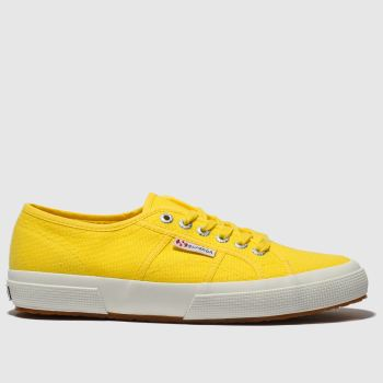 Superga Yellow 2750 Cotu Classic Womens Trainers