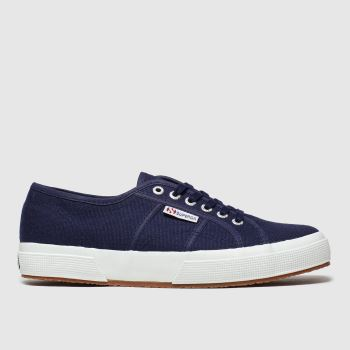 Superga Navy 2750 Cotu Classic Womens Trainers