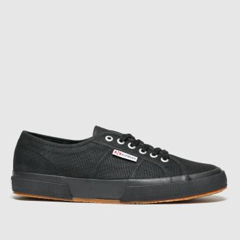 Superga Black 2750 Cotu Classic Womens Trainers