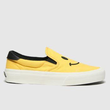 STRAYE Yellow Ventura Trainers
