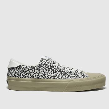 Straye White & Black Stanley Womens Trainers