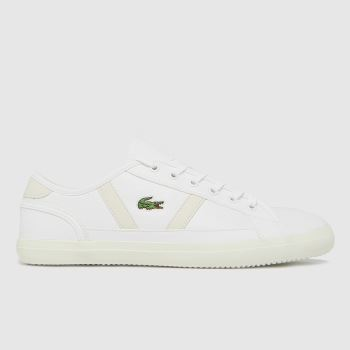 Lacoste White Sideline Womens Trainers