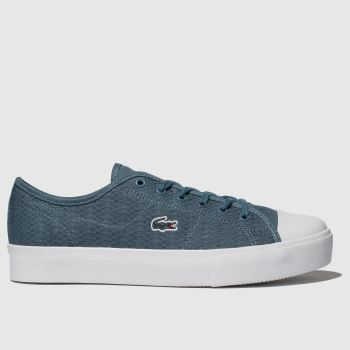 Lacoste Blue Ziane Plus Grand Womens Trainers