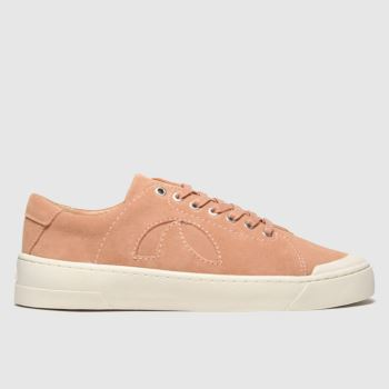 Roscomar Peach Blvd Suede Womens Trainers#