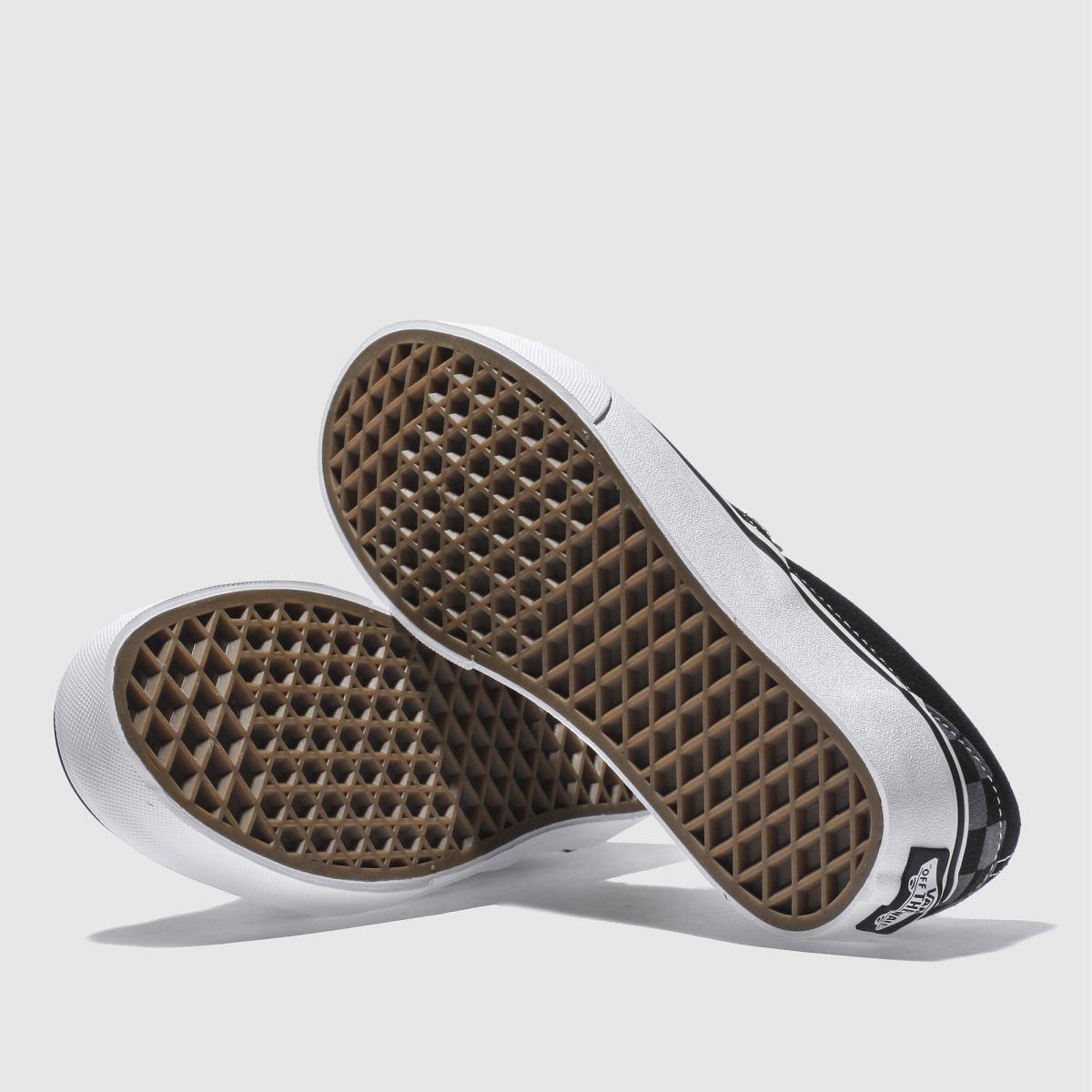 Damen Schwarz-grau vans Qualität Classic Checkerboard Sneaker | schuh Gute Qualität vans beliebte Schuhe d39e02