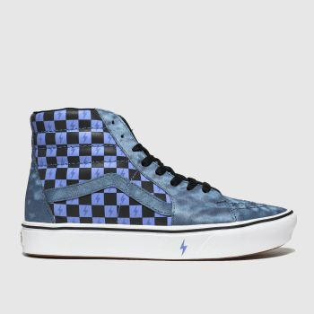 Vans Blue Hp Transfiguration Sk8-hi Womens Trainers