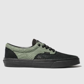 Vans Black & Green Hp Slytherin Era Womens Trainers