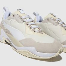 100% autentyczny wiele kolorów moda designerska puma white & beige thunder nature trainers