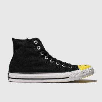 Converse Black & White All Star Carnival Hi Womens Trainers
