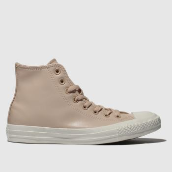 Converse Pale Pink All Star Craft Hi Womens Trainers