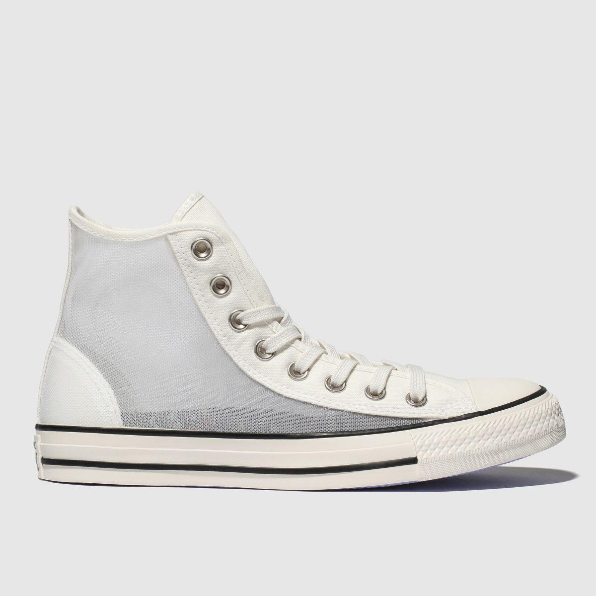 Damen converse Weiß All Star See through Hi Sneaker