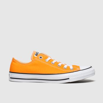 Converse Orange All Star Ox Womens Trainers