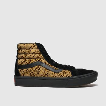Vans Brown & Black Comfycush Sk8-hi Reissue c2namevalue::Womens Trainers
