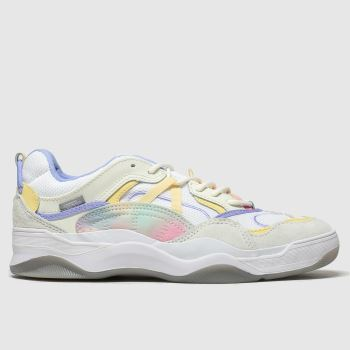 Vans White & Yellow Varix Wc Womens Trainers