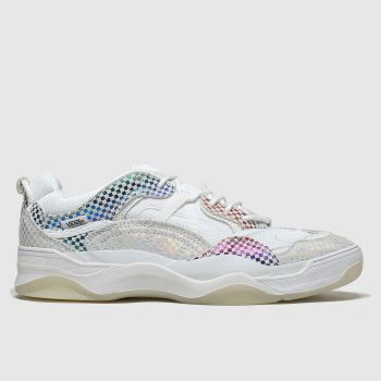 Vans White & Grey Varix Wc Glory Check Womens Trainers