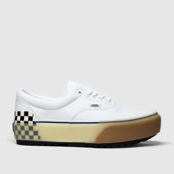 Vans White Era Stacked Womens Trainers