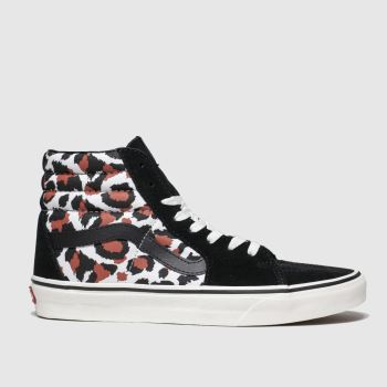 Vans Black & Brown Sk8-Hi Womens Trainers
