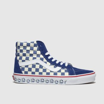 Vans Navy & White Sk8-Hi Reissue Bmx Womens Trainers