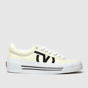 Vans White Sid New Issue Womens Trainers