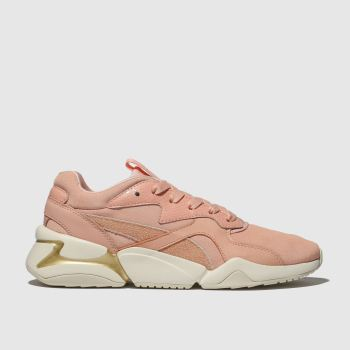 Puma Peach Nova Pastel Womens Trainers