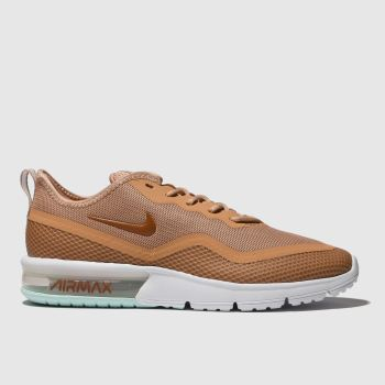 Nike Peach Air Max Sequent 4.5 Trainers