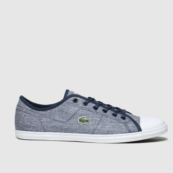 Lacoste Navy & White Ziane Sneaker Womens Trainers