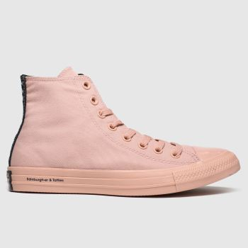Converse Pale Pink All Star Opi Hi Womens Trainers