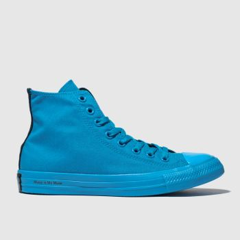 Converse Blue Chuck Taylor All Star Opi Womens Trainers