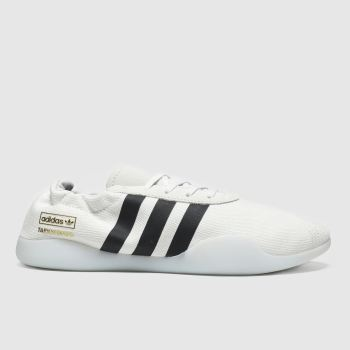 Adidas White & Black Taekwondo Team Trainers
