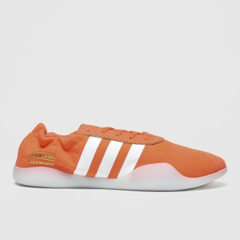 Adidas Orange Taekwondo Team Womens Trainers