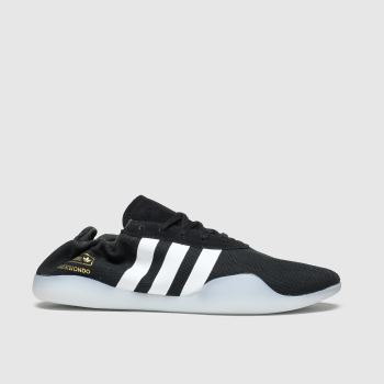 Adidas Black & White Taekwondo Team Trainers