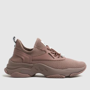 Steve Madden Pale Pink Match Womens Trainers