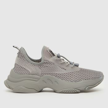 Steve Madden Grey Mastery Womens Trainers
