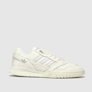 Adidas White A.r. Trainers