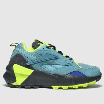 Reebok Turquoise Aztrek Double c2namevalue::Womens Trainers