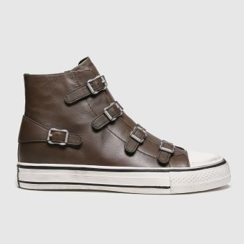 ASH Brown Virgin Womens Trainers