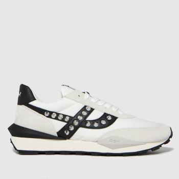 ASH White Spider Studs Womens Trainers