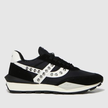 ASH Black Spider Studs Womens Trainers